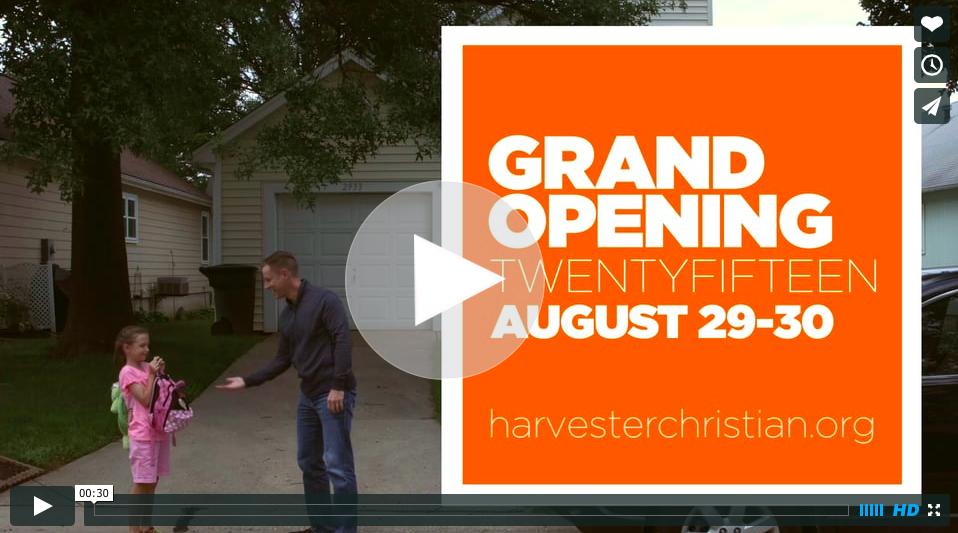 Harvester Grand Opening