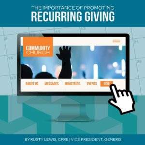 the importance of promoting recurring giving