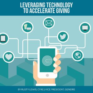 leveraging technology to accelerate giving