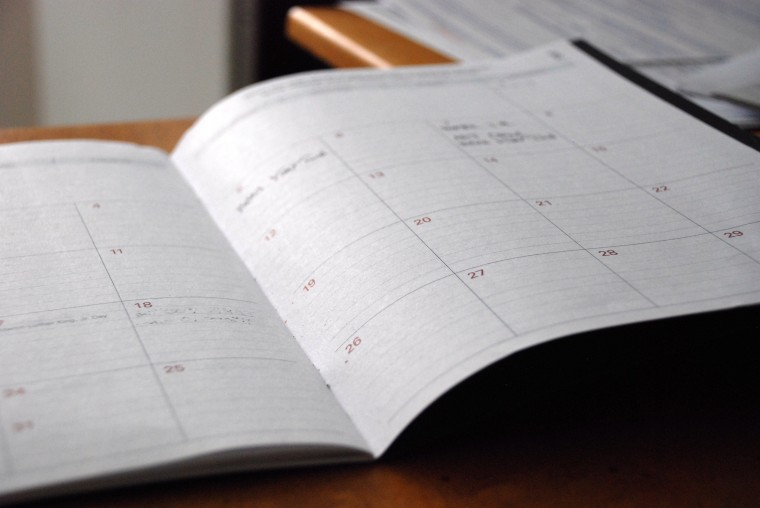Important Dates for Year-End Giving